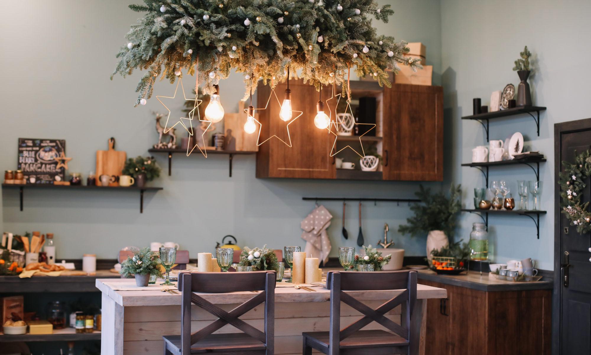Świąteczne dekoracje w kuchni