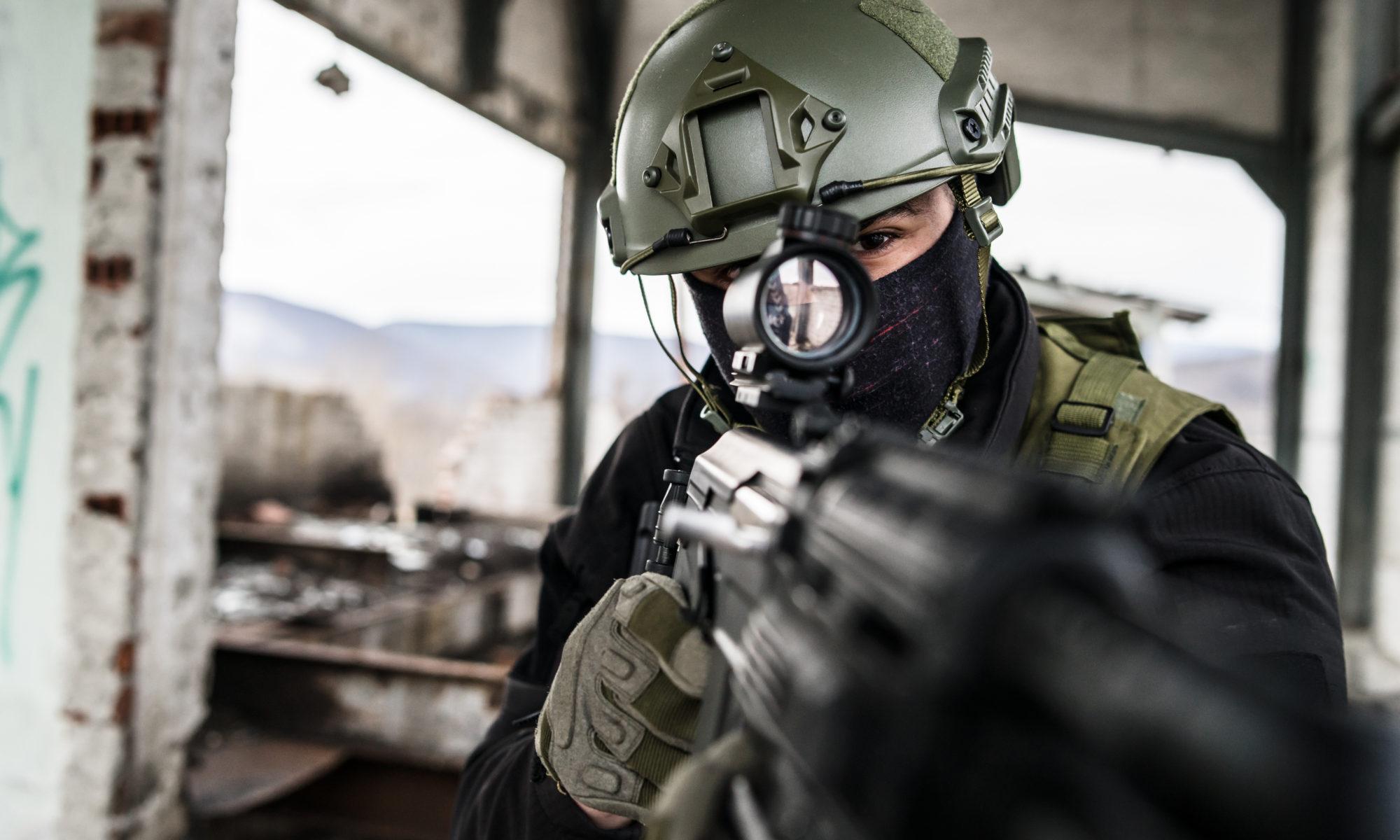 airsoft żołnierz swat