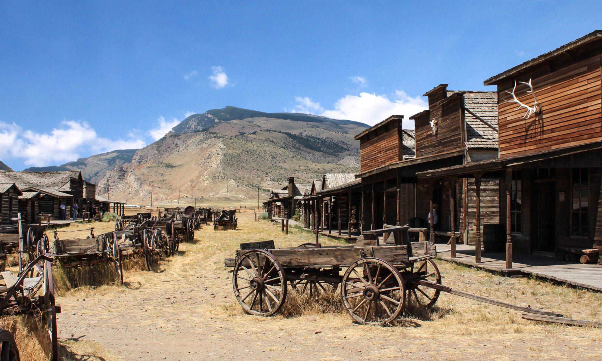 krajobraz westernowy