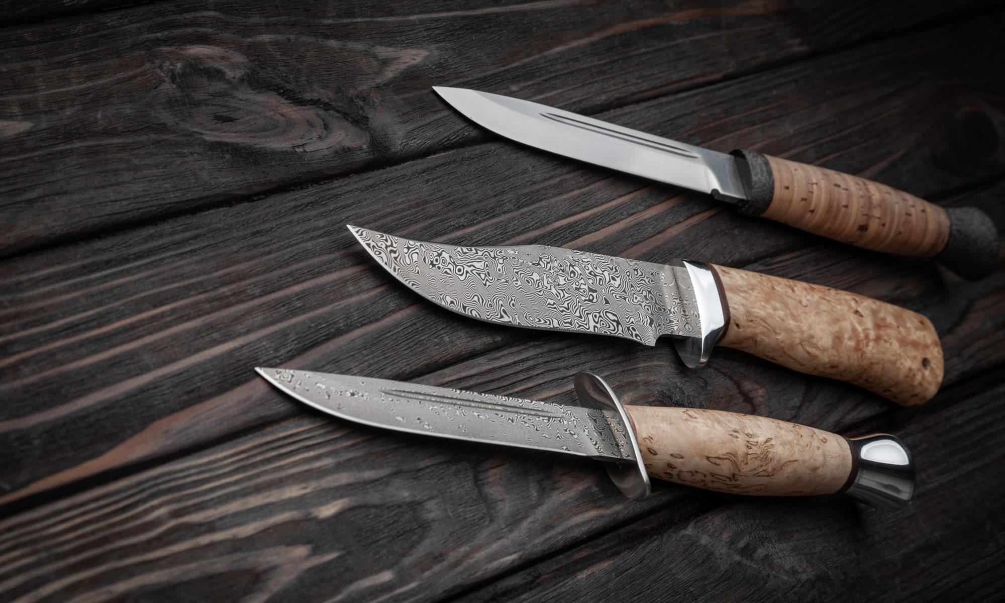 ręcznie robione noże