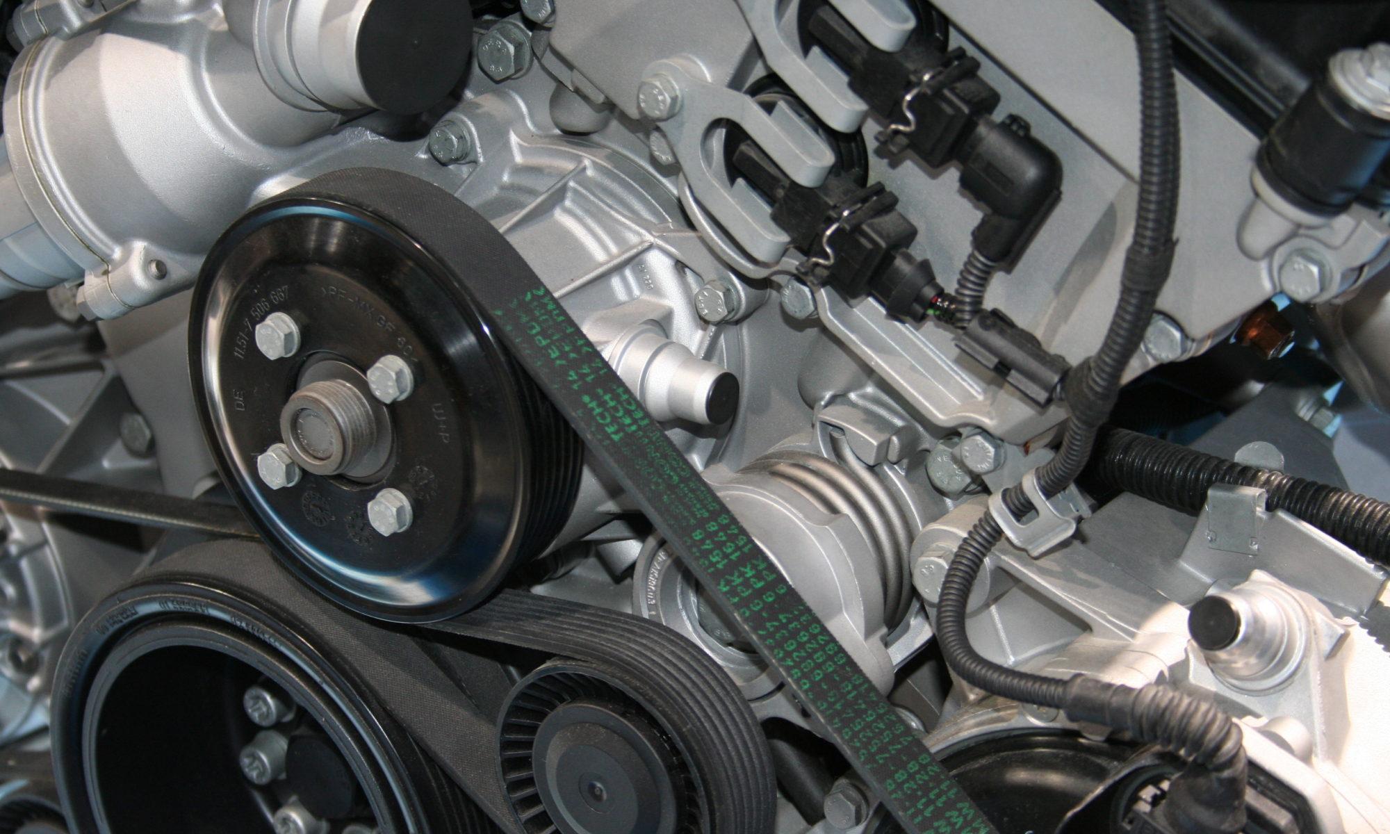 silnik samochodowy pasek rozrządu