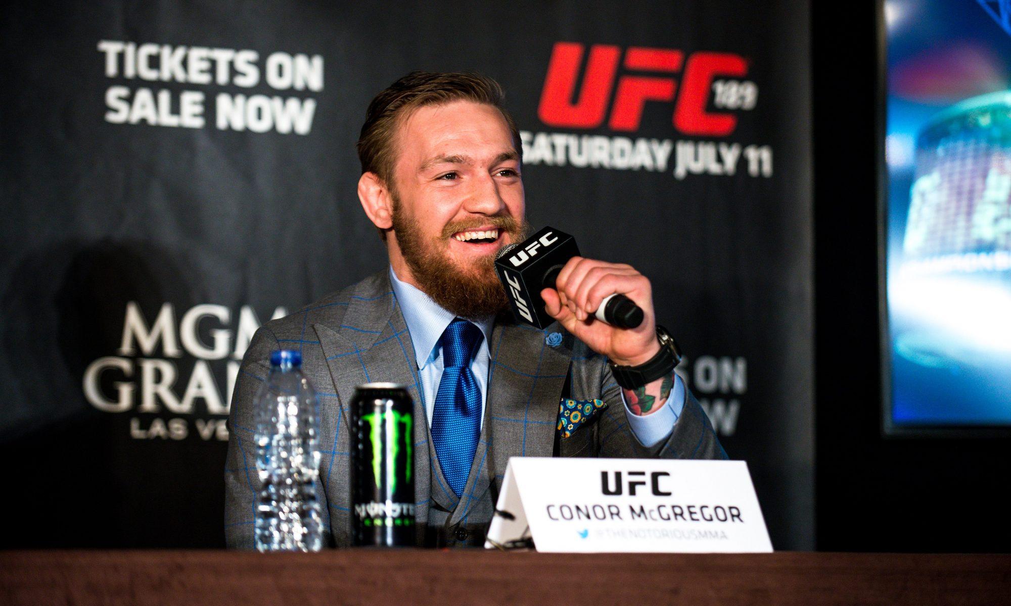 UFC 189 World Tour Aldo vs. McGregor London 2015