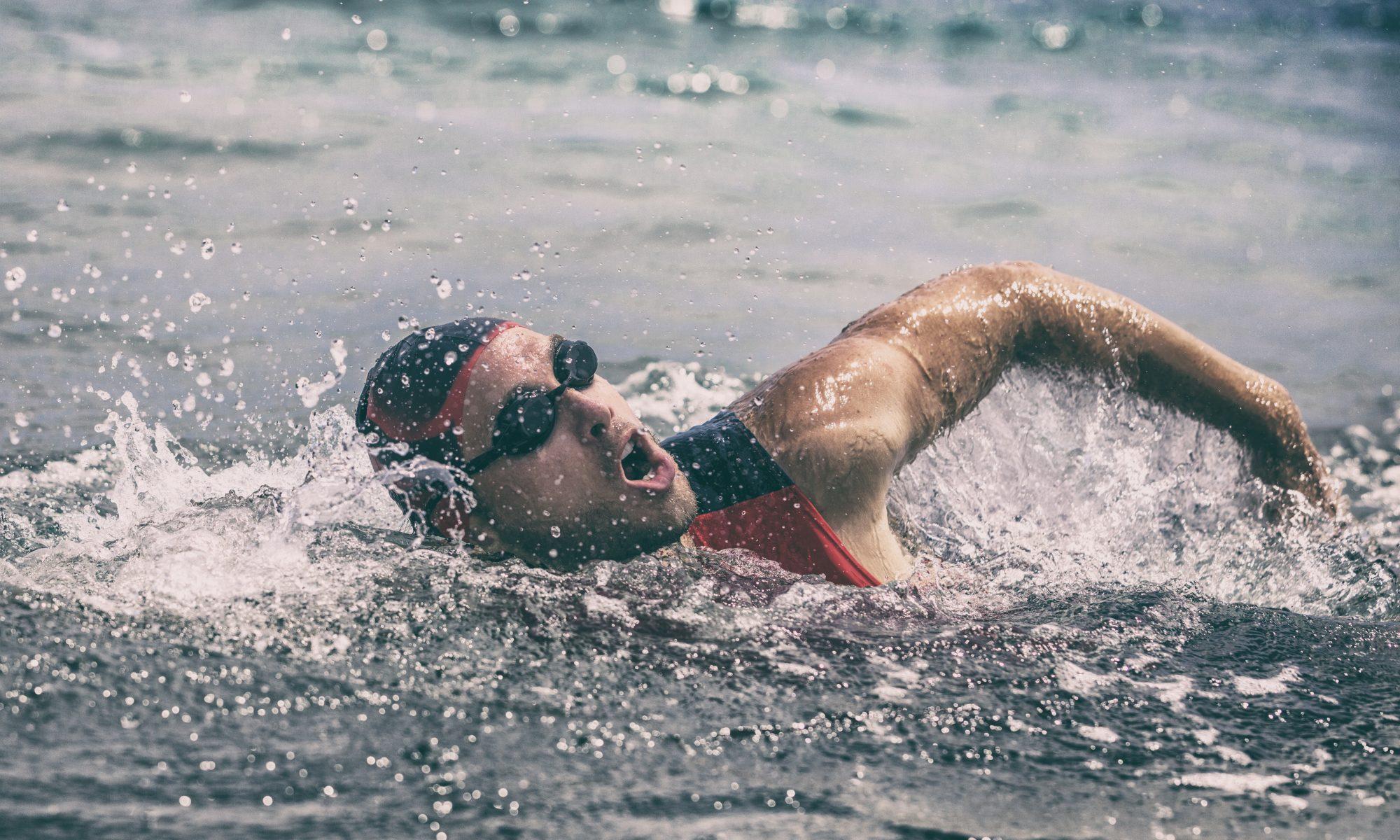 Triathlon pływanie